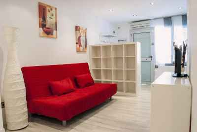 Отремонтированная квартира в спальном районе Барселоны